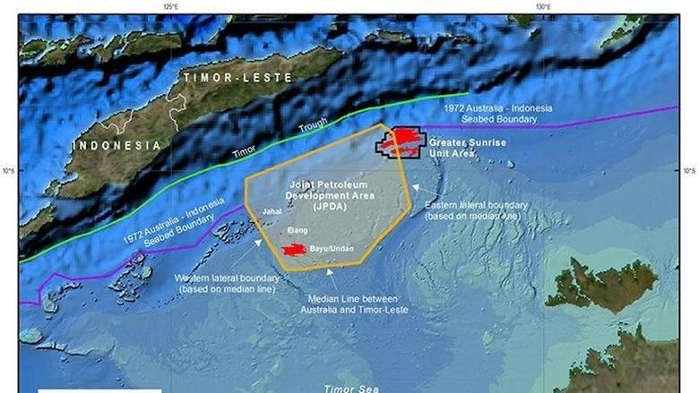 RI Sambut Baik Rekonsiliasi Zona Maritim Australia-Timor Leste