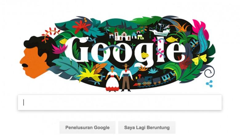 Gabriel Garcia Marquez, Novelis Legenda Kolombia yang Jadi Google Doodle