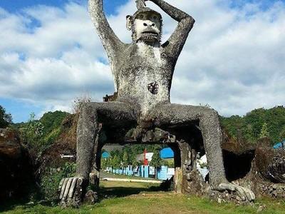 Gunung Abbo, Gunung Misterius di Sulsel dan Kisah Raja Kera Toakala