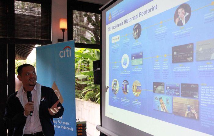 Hal itu diumumkan pada acara pengumuman program 50% off the Next Transaction. Foto: dok. Citi Indonesia