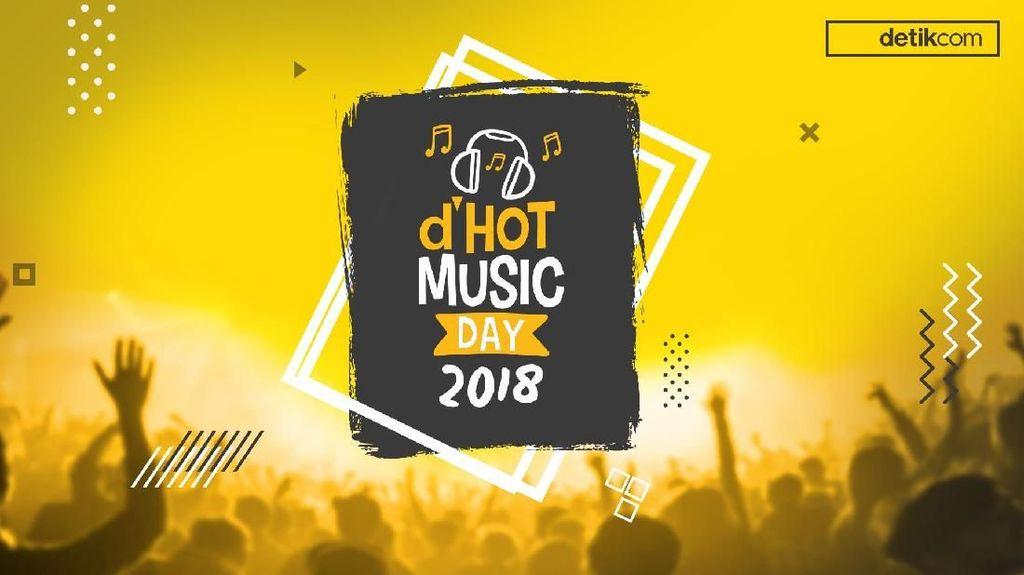 Nggak Mau Kalah! Menteri dan Pejabat Turut Ramaikan dHOT Music Day