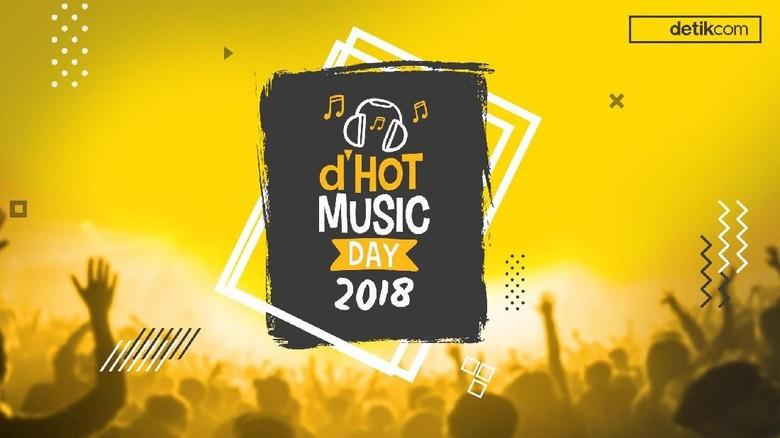 Yuk Nonton dHOT Music Day Bareng 25 Musisi hingga Menteri, Gratis!