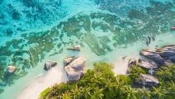 Pulau Cantik di Afrika Ini Haram Dikunjungi Kapal Pesiar