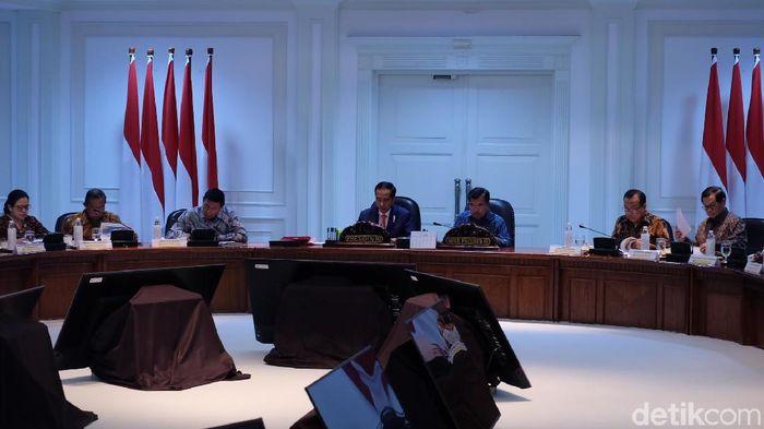 Foto: Jokowi rapat bahas Asian Games (Dika-detikcom)