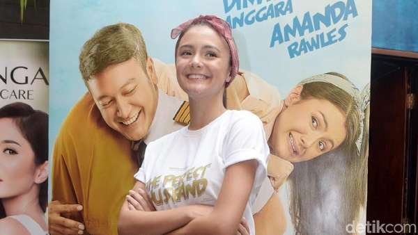 Curhat Amanda Rawles soal Tampil Nakal di Film Baru