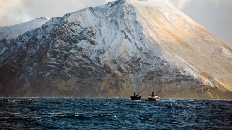 nelayan kepiting raja Alaska