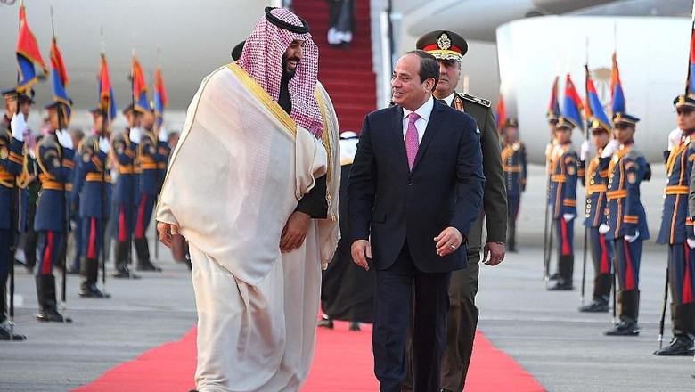 Putra Mahkota Arab Saudi Dukung Perang Mesir Melawan Terorisme