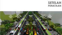 Konsep trotoar Sudirman-Thamrin setelah ditata