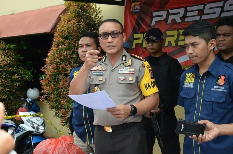 Polisi Ungkap Motif Pembunuhan Driver GrabCar di Tangerang