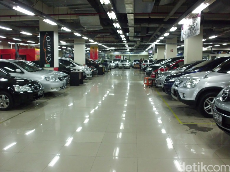 Bursa Mobil Bekas. Foto: dok detikOto