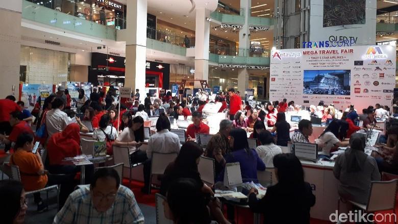 Mega Travel Fair Jakarta (Shinta/detikTravel)