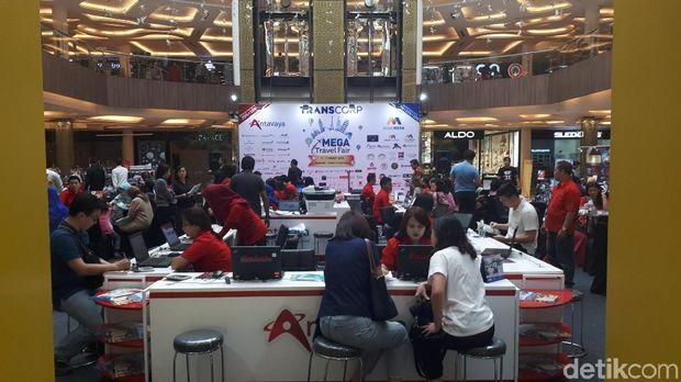 Ayo Berburu Promo Tiket Pesawat dan Liburan Murah di Mega Travel Fair Bandung