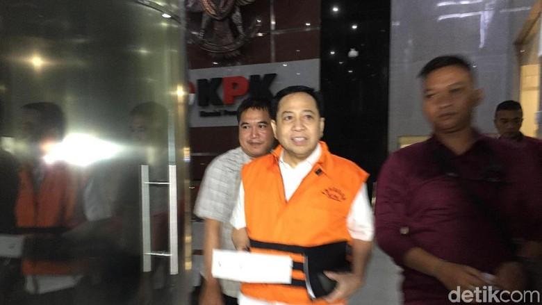 Ditahan KPK 3 Bulan Lebih, Berat Badan Setya Novanto Turun