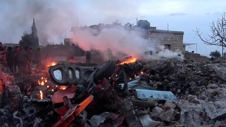 Pesawat Rusia Jatuh Saat Akan Mendarat di Suriah, 39 Orang Tewas