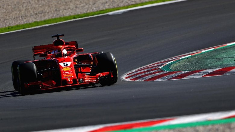 Tes Pramusim Kedua Digelar, Vettel Tercepat di Hari Pertama
