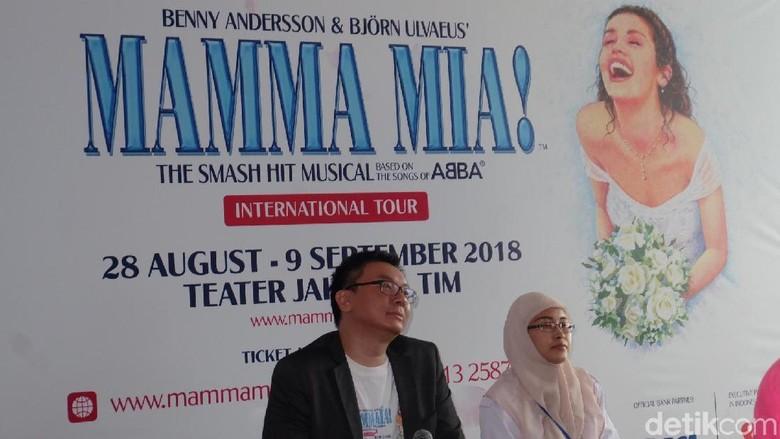 Pertunjukan Musikal MAMMA MIA! dari West End London Segera Hadir di Jakarta
