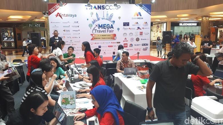 Mega Travel Fair Bandung (Mukhlis Dinillah/detikTravel)
