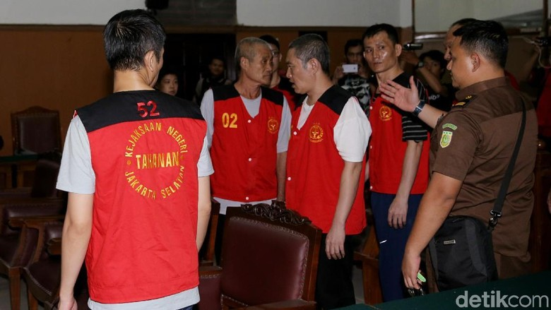 PT Jakarta Tetap Hukum Mati 8 Penyelundup 1 Ton Sabu