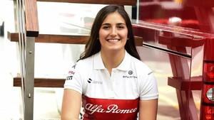Lebih Dekat dengan Tatiana Calderon, Test Driver Sauber yang Jelita