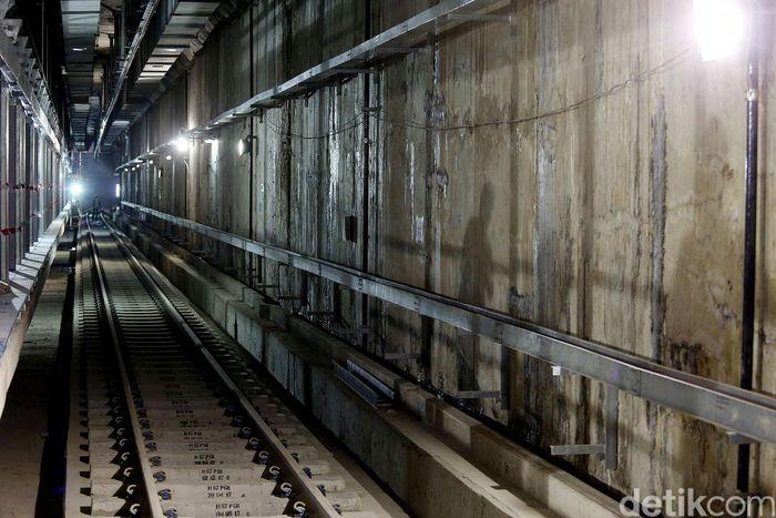 Begini penampakan terkini proyek pembangunan Mass Rapid Transit (MRT) Jakarta, Rabu (7/3/2018).