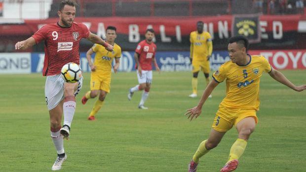 Ilija Spasojevic bermain di Bali United di Liga 1 musim ini.
