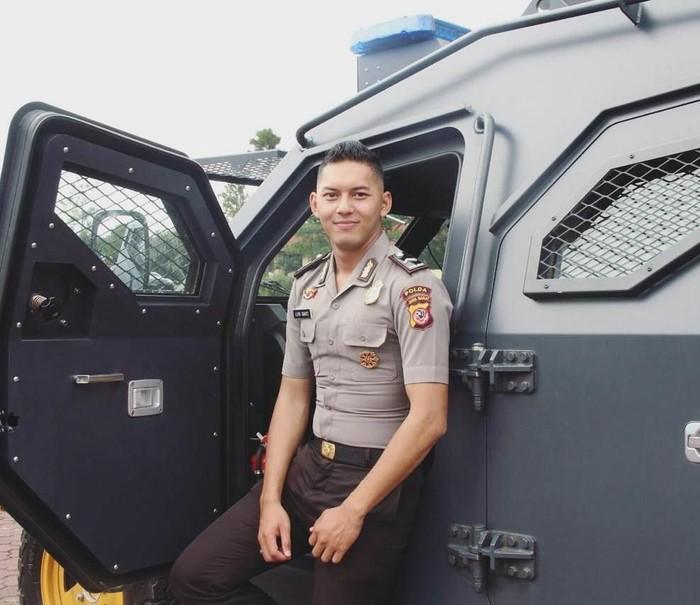 Gariz Luis polisi ganteng