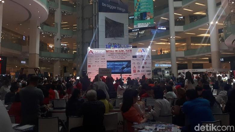 Mega Travel Fair Jakarta (Shinta Angriyana/detikTravel)