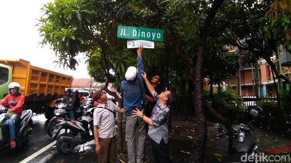 Tolak Ide Pemprov Jatim Ubah Nama Jalan, Massa: Cari Lokasi Lain