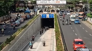 Seminggu Beroperasi, Lalu Lintas di Underpass Kartini Lancar
