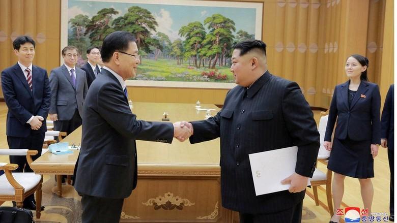 Presiden Korsel dan Kim Jong-Un akan Bertemu di Perbatasan Militer