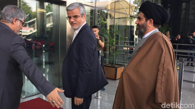 Utusan Kedubes dan Parlemen Iran Temui Pimpinan KPK