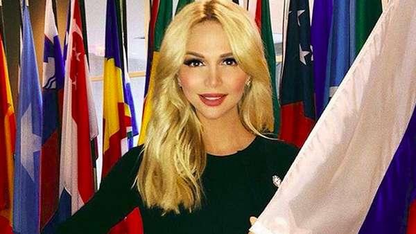 Nyoh! Cantik & Seksinya Victoria Lopyreva si Duta Piala Dunia 2018