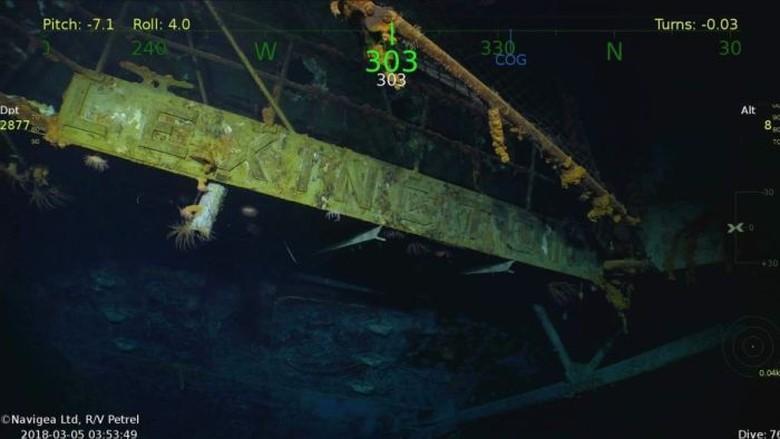 Kapal Induk AS Era PD II Ditemukan di Australia 76 Tahun Usai Karam