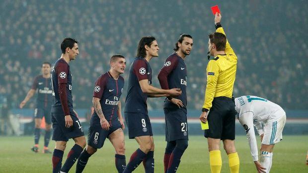 PSG tersingkir dari Liga Champions karena kalah dari Real Madrid.