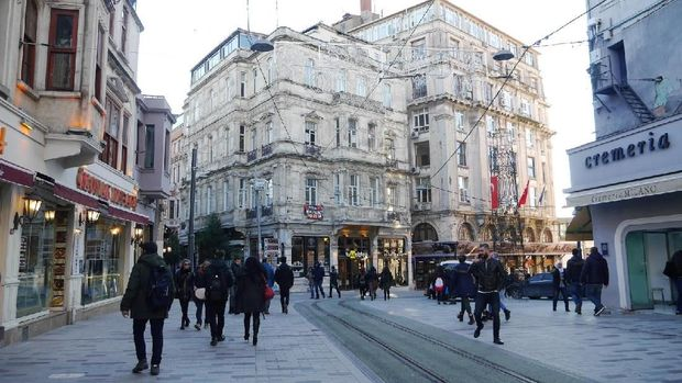 Suasana Kota Istanbul