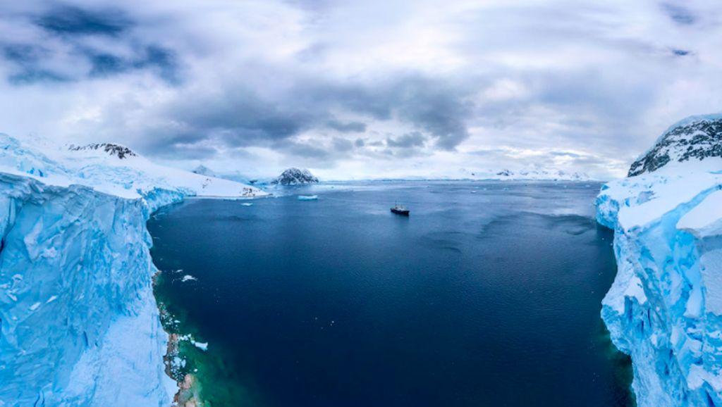 Pemandangan Elok Ujung Dunia yang Bikin Menggigil