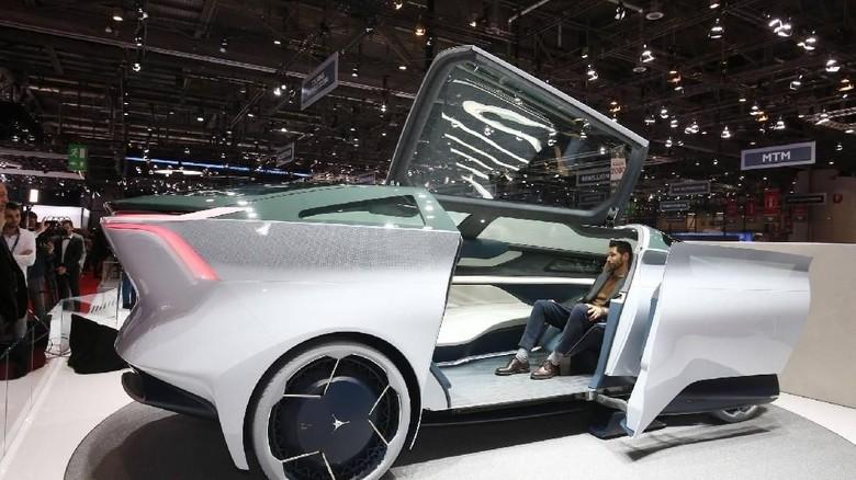 Mobil otonom Icona Nucleus (Foto: Dok. Motor1)