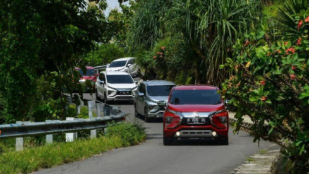 Xpander diuji coba jurnalis dari Solo - Yogyakarta selama tiga hari.