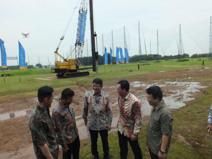 Foto: Prosesi groundbreaking Vasanta Innopark di Cikarang Barat (Dok. Vasanta Innopark)