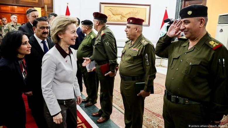 Jerman Putuskan Perluasan Misi Militer di Irak dan Afghanistan