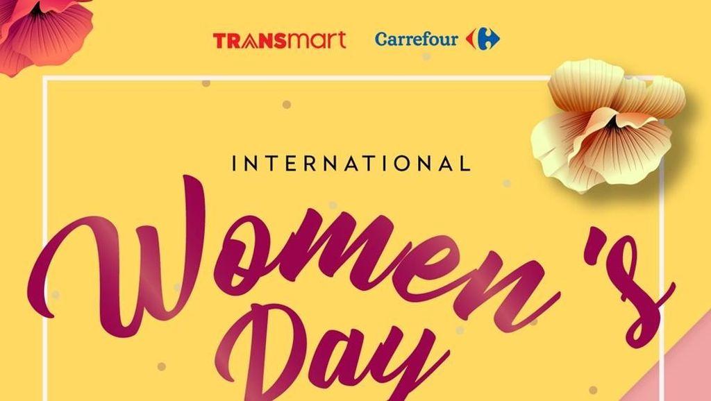 Super Diskon di Hari Perempuan Internasional 2018