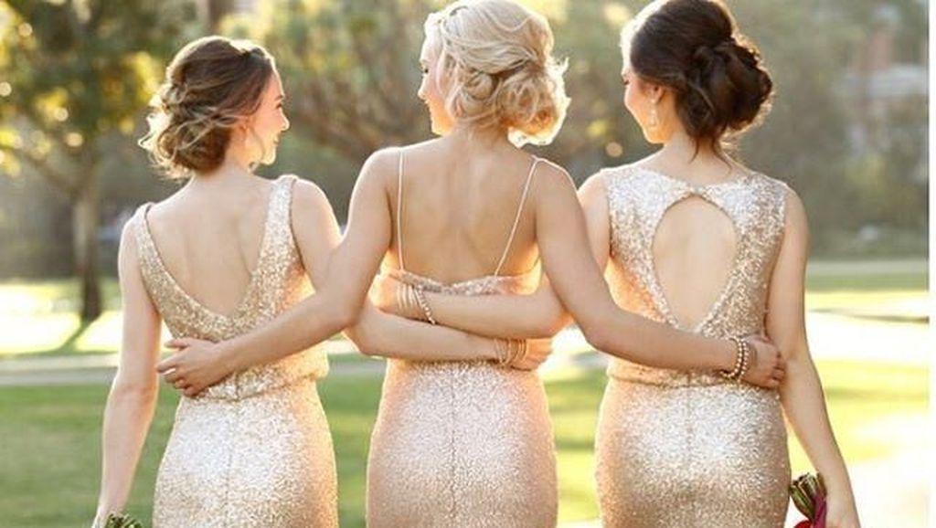 Wanita Ini Tolak Sahabat Jadi Bridesmaid Karena Ukuran Payudara