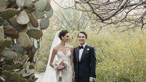 Foto Pesta Pernikahan Super Mewah Model Cantik Meksiko dengan Kolektor Seni