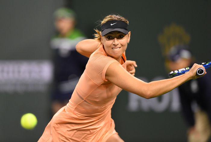 Maria Sharapova kandas di babak I Indian Wells 2018. (Foto: Jayne Kamin-Oncea-USA TODAY Sports)