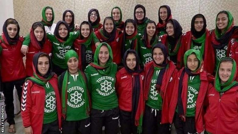 Ancaman Hidup dan Mati Pemain Timnas Sepakbola Wanita Afghanistan