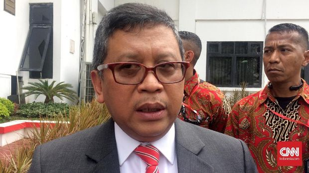 Dua Petinggi Golkar-PDIP Bertemu Bahas Cawapres Jokowi