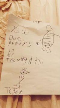 So Sweet! Isi 'Surat Cinta' buat Robbie Williams dari Putrinya