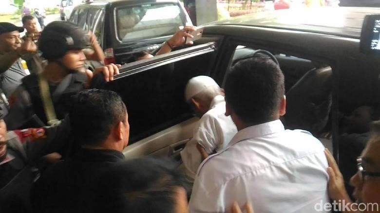Tak Rawat Inap, Abu Bakar Baasyir Tinggalkan RSCM