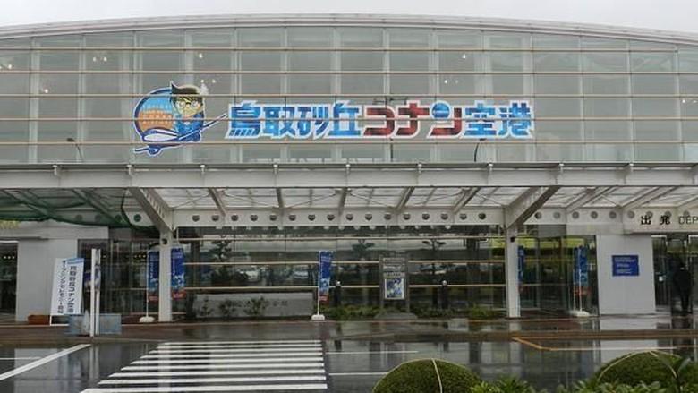 Bandara bertemakan Detective Conan di Tottori, Jepang (Fanpage Detective Conan/Facebook)