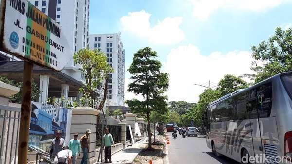 Pemprov Jabar Kaji Lokasi Jalan Majapahit dan Hayam Wuruk